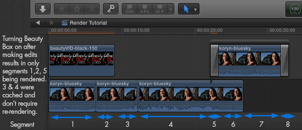 Final cut x how to clear render files