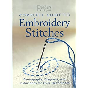 free embroidery stitches instructions