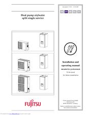 Fujitsu heat pump installation manual