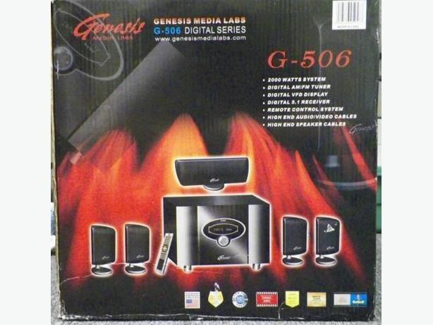 Genesis media labs g 506 manual