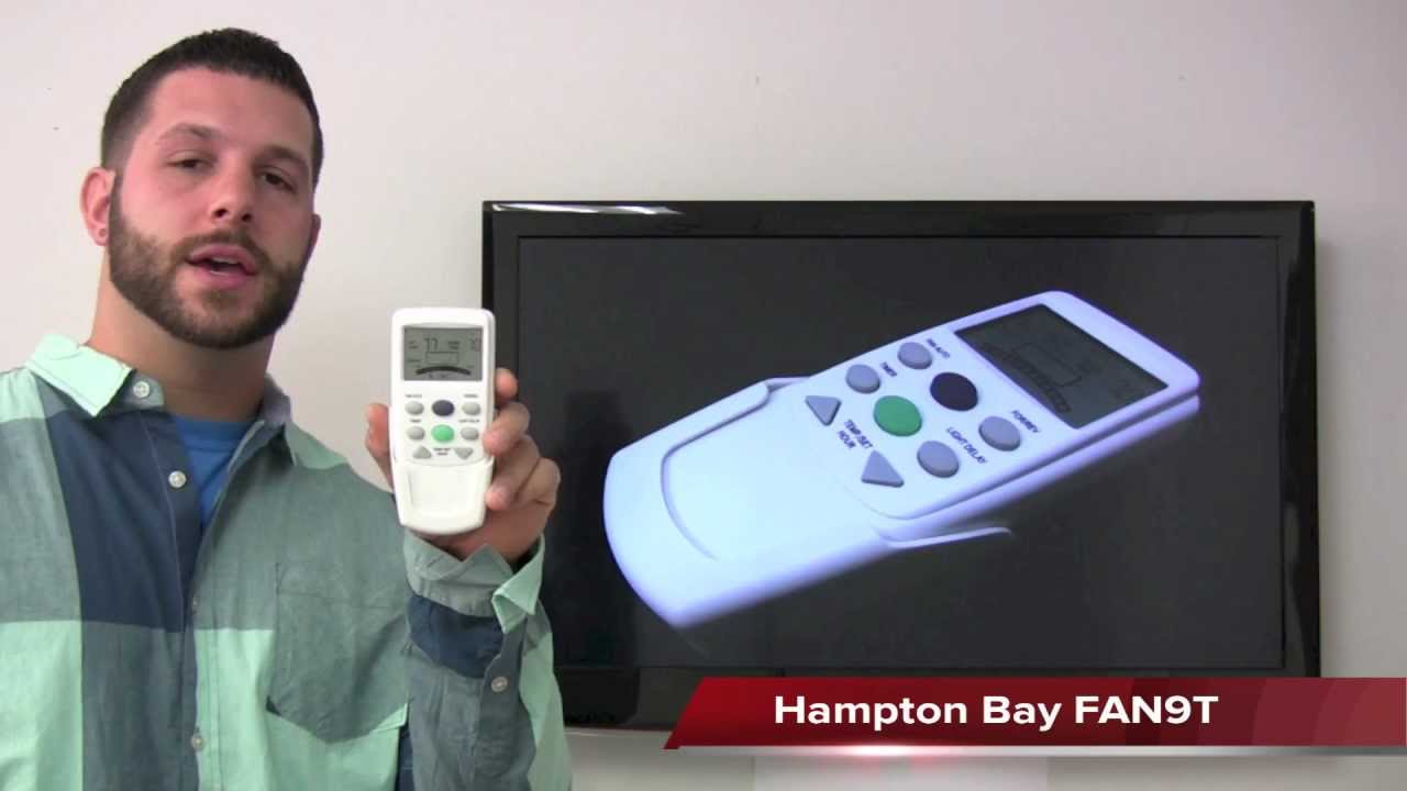 hampton bay remote control manual