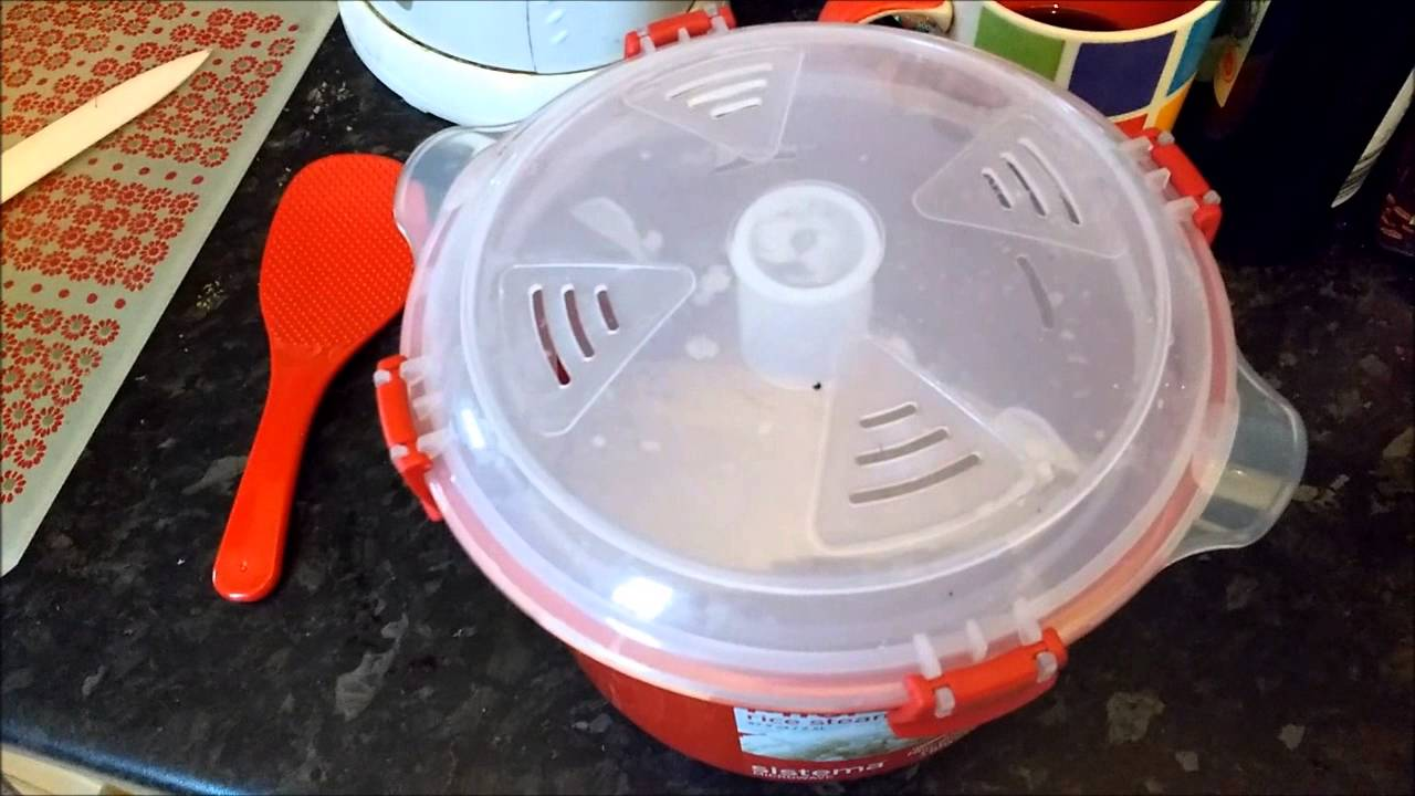 hario microwave rice cooker instructions
