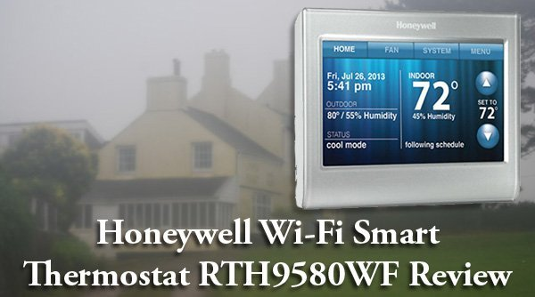 honeywell wifi smart thermostat rth9580wf manual