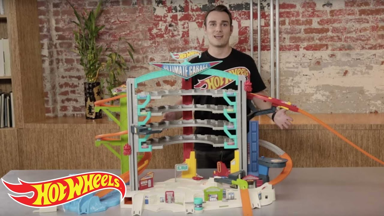 hot wheels ultimate garage with car wash instructions