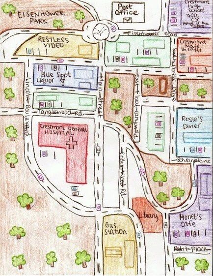 House on mango street map project example