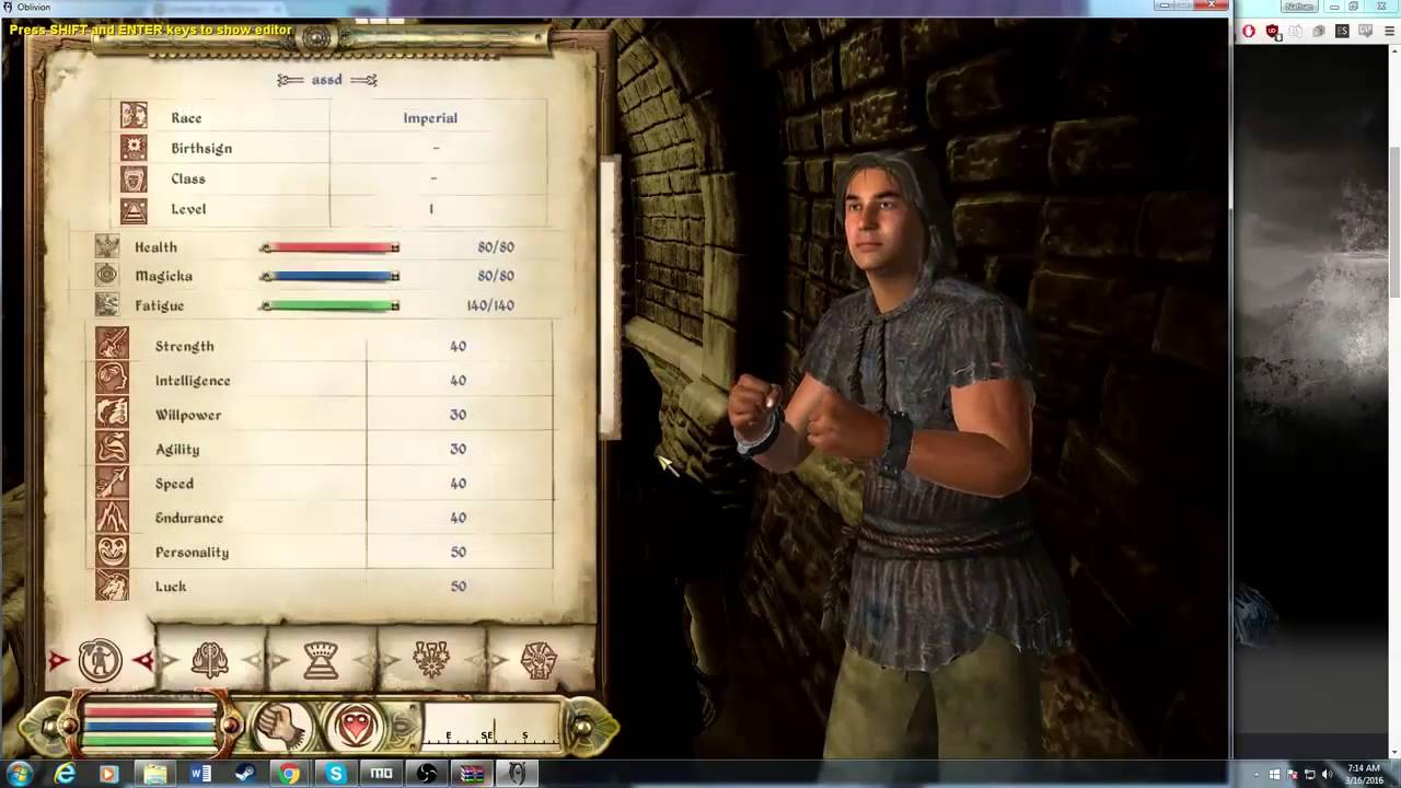 how to install darnified ui oblivion manually