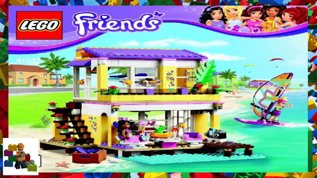 instructions of lego friends
