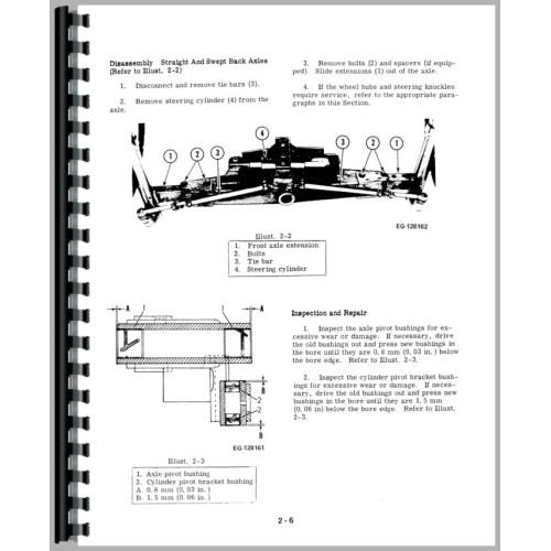 International 574 tractor parts manual
