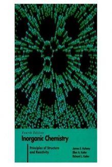 James huheey inorganic chemistry pdf free download