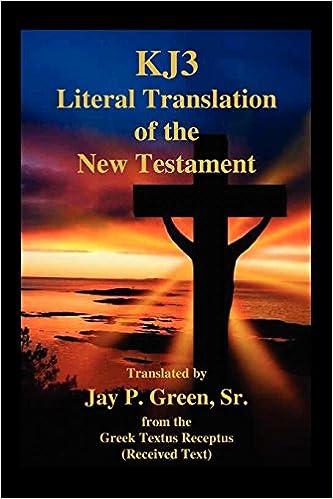Jp green interlinear bible pdf