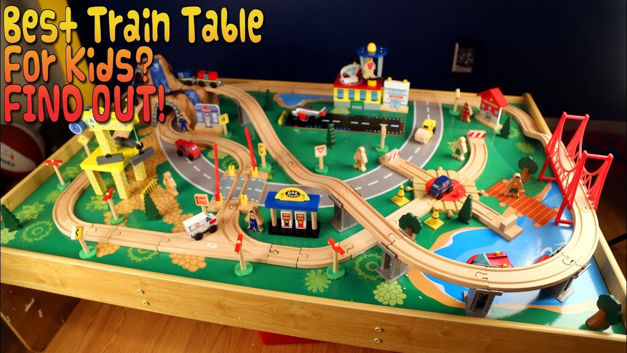 Kidkraft train table instructions