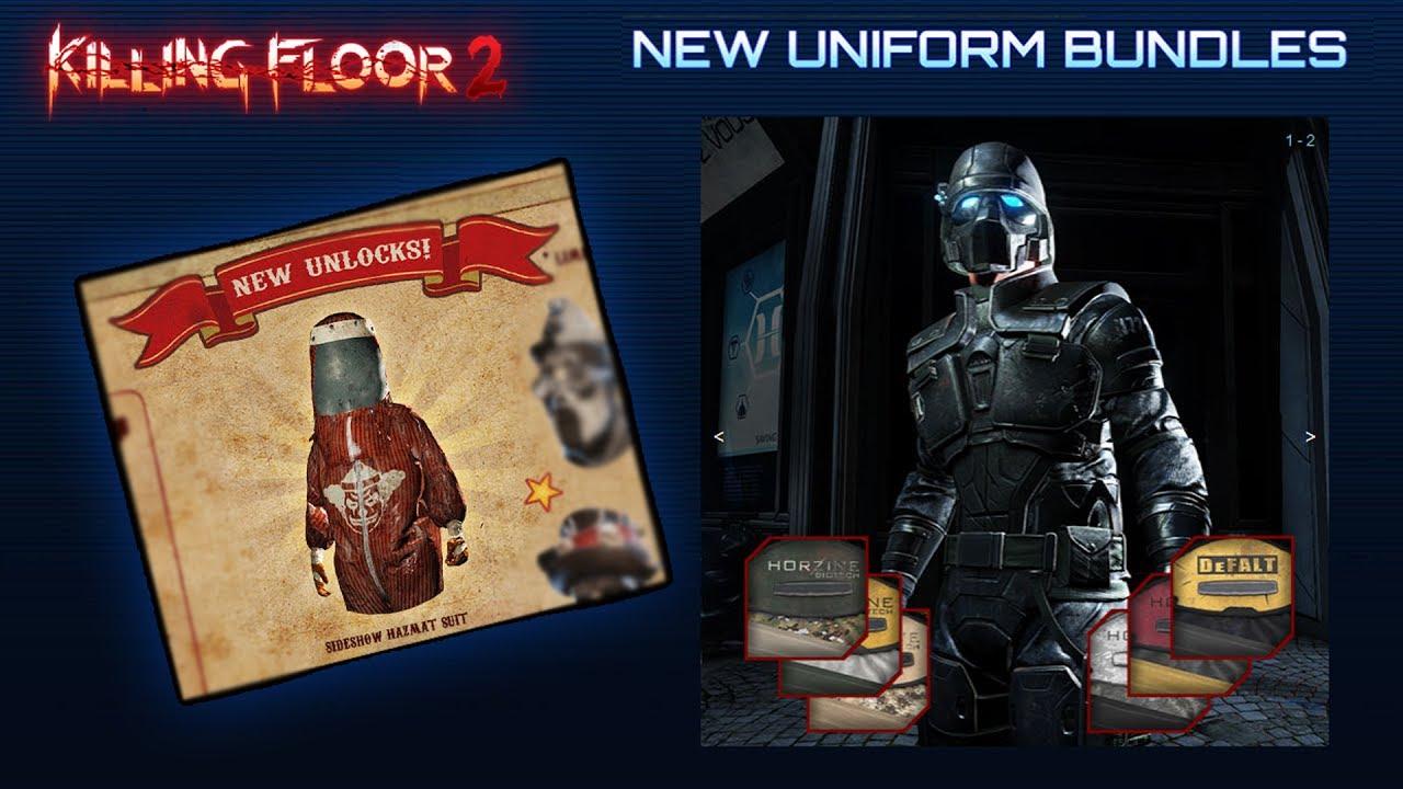 Killing floor 2 how to get horzine armor