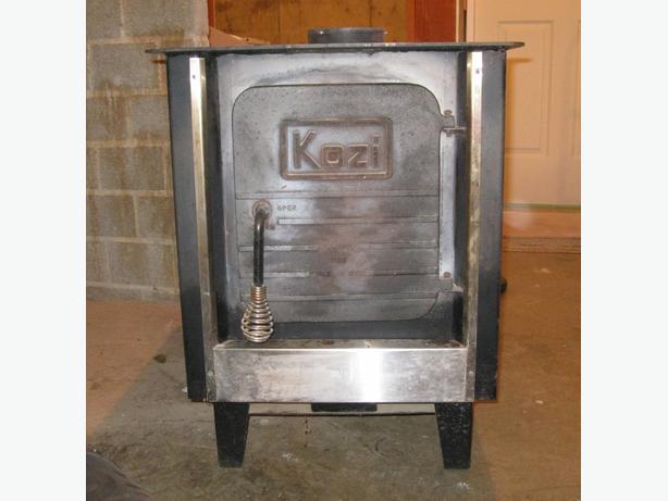 Kozi 25 wood stove manual