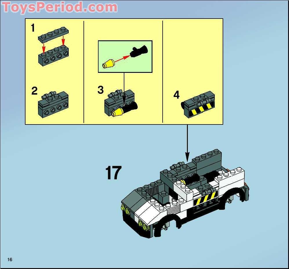 Lego batmobile instructions 7781