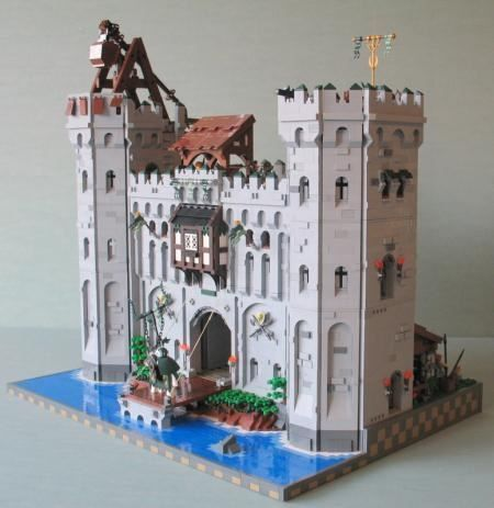 lego castle moc instructions