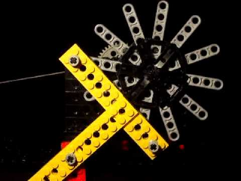 lego clock escapement instructions