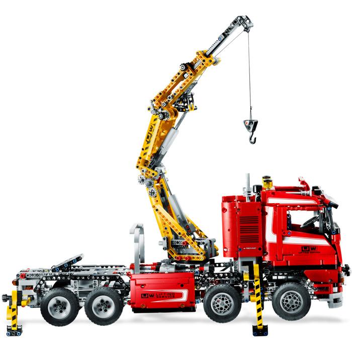 Lego crane truck instructions