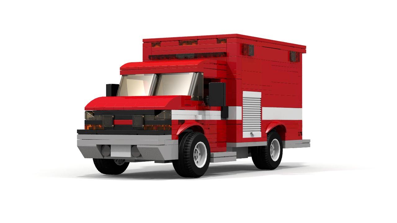 lego fire truck instructions