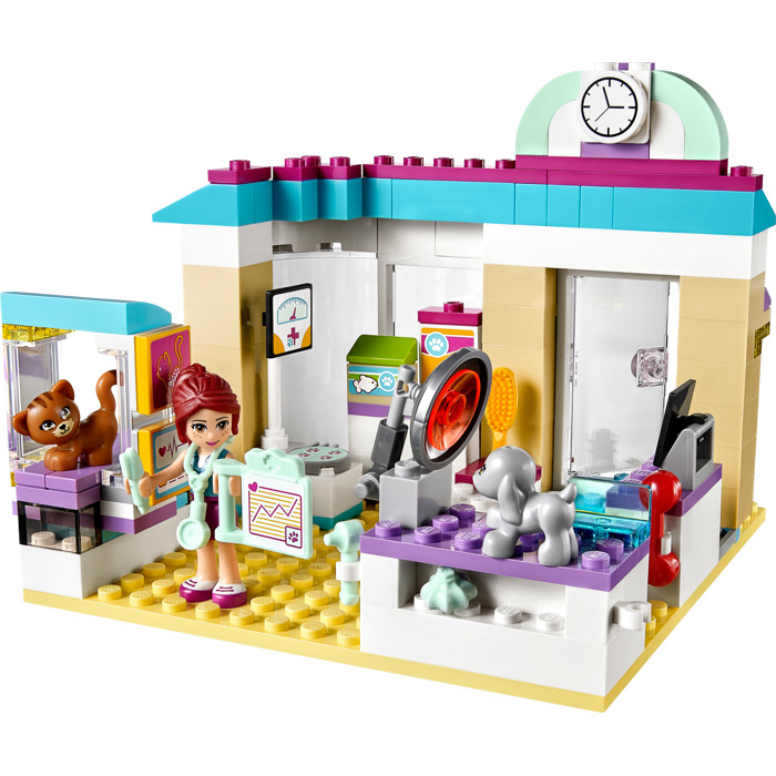 Lego friends vet clinic instructions