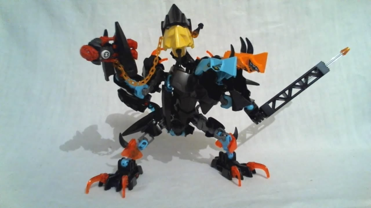 lego hero factory splitter beast instructions