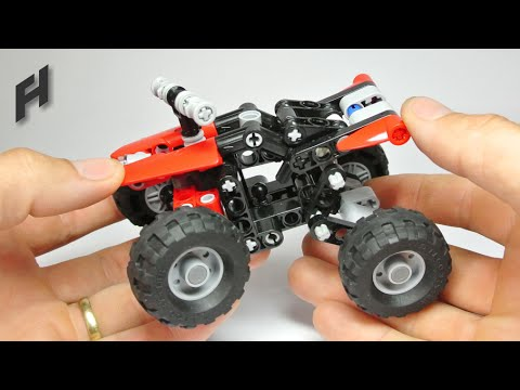 Lego quad bike instructions 10696