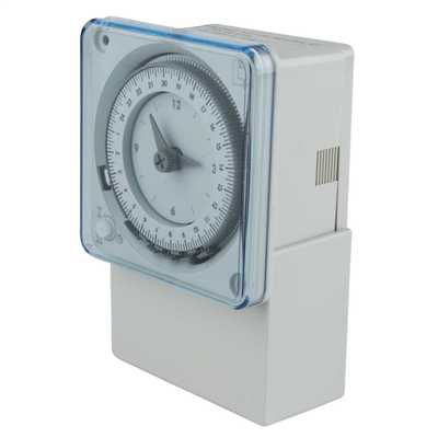 Legrand analog timer switch manual