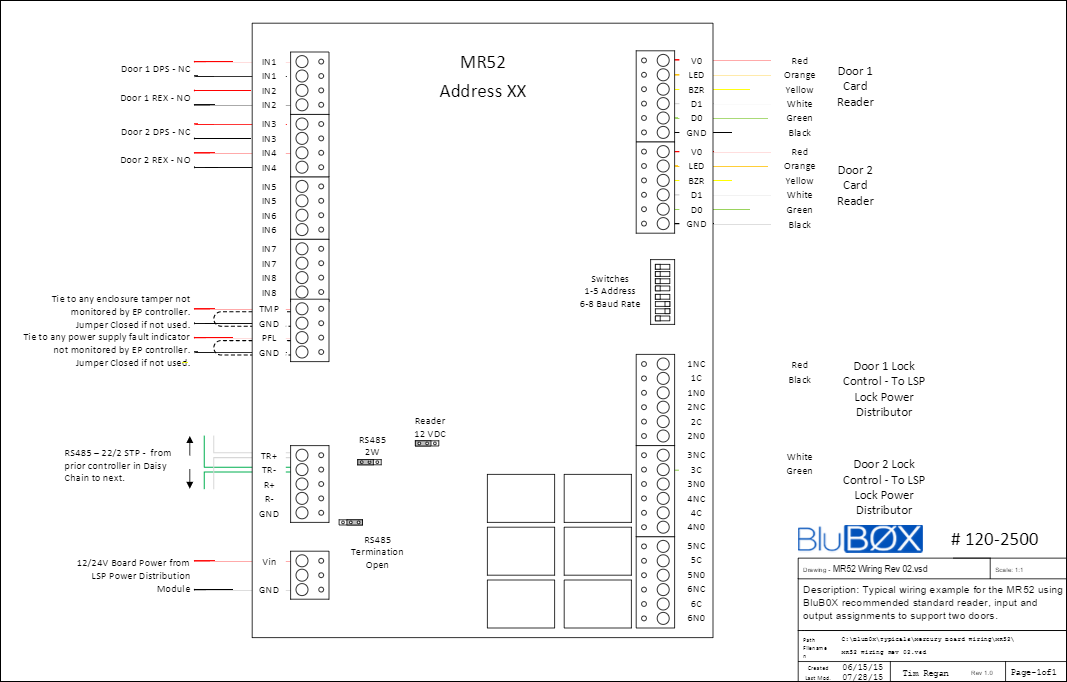 Lenel access control installation manual