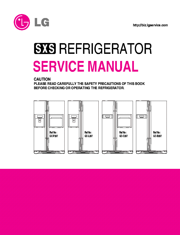 Lg gc p197dpsl service manual