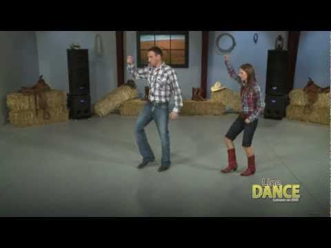line dance instructions for achy breaky heart