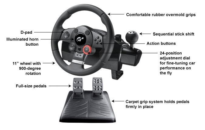 Logitech driving force gt manual