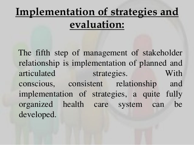 Major stakeholders in health care system pdf