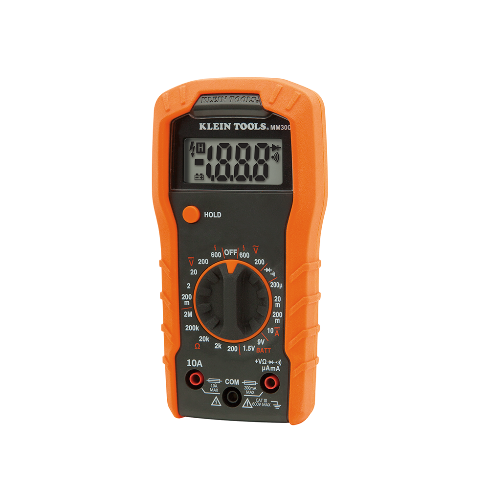 mastercraft digital multimeter manual 52 0055 6