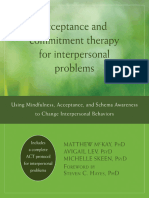 Method of acceptance and commitment therapy pdf
