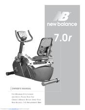 new balance 5500u exercise bike manual