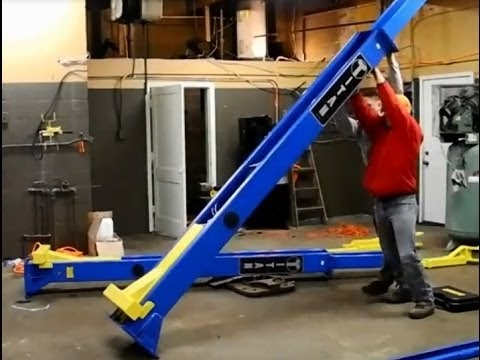 Nussbaum lift installation instructions