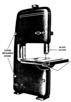 old craftsman 12 inch band saw manual