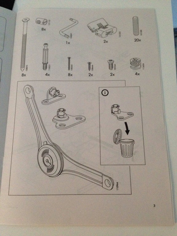 old ikea instruction manuals