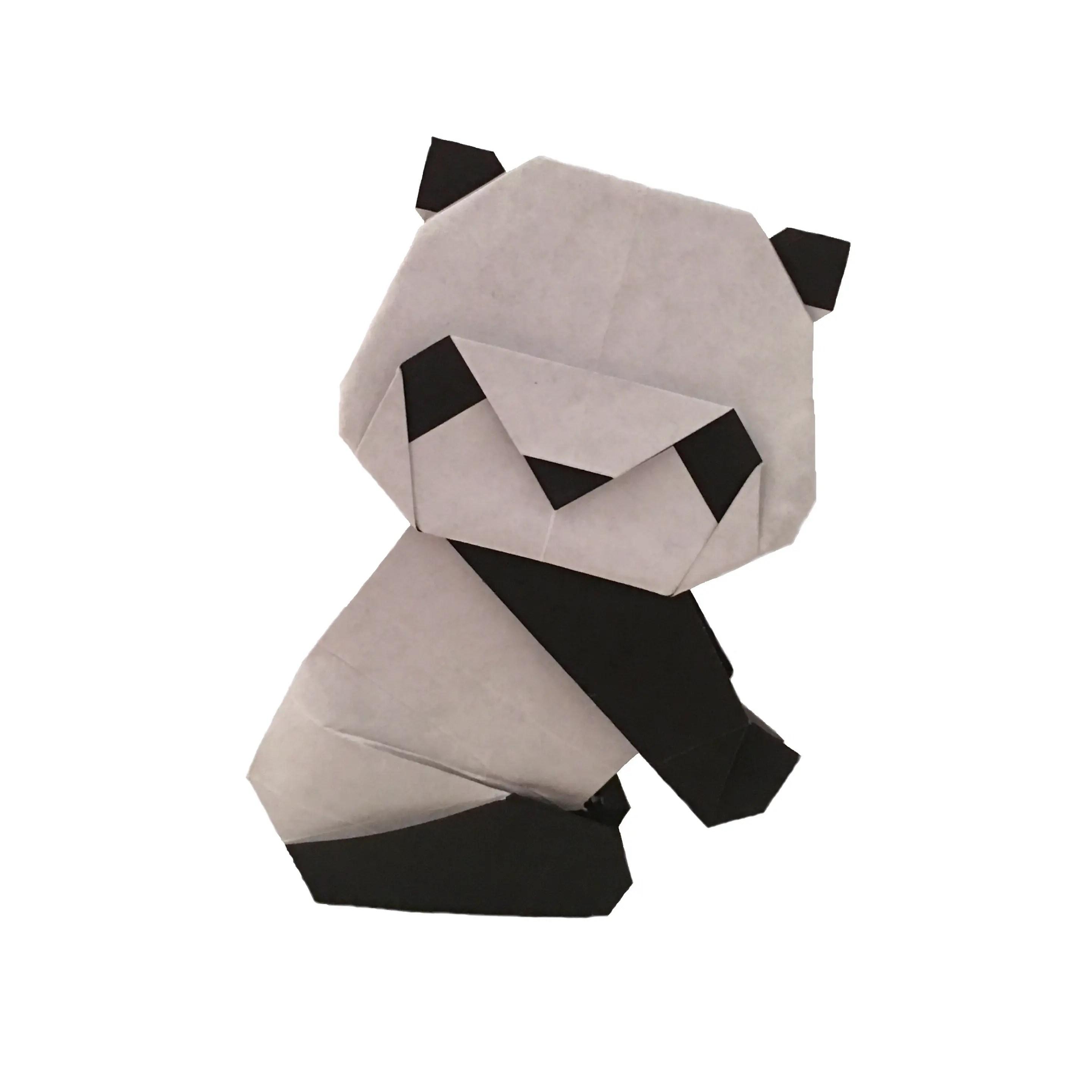 origami panda instructions beginners