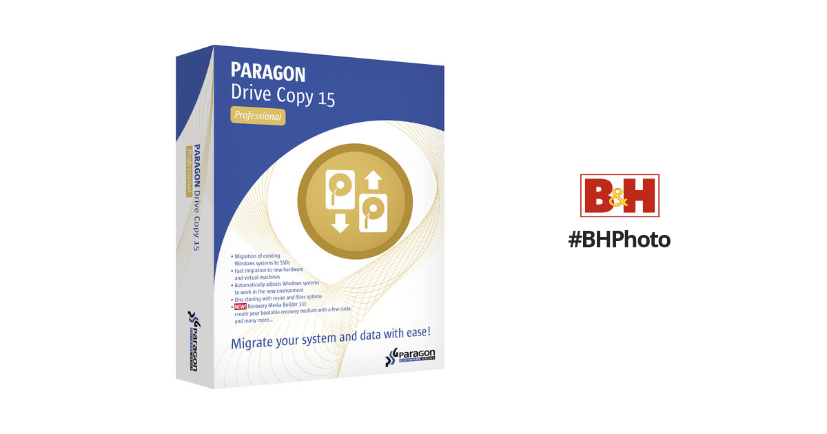 paragon drive copy 15 professional manual