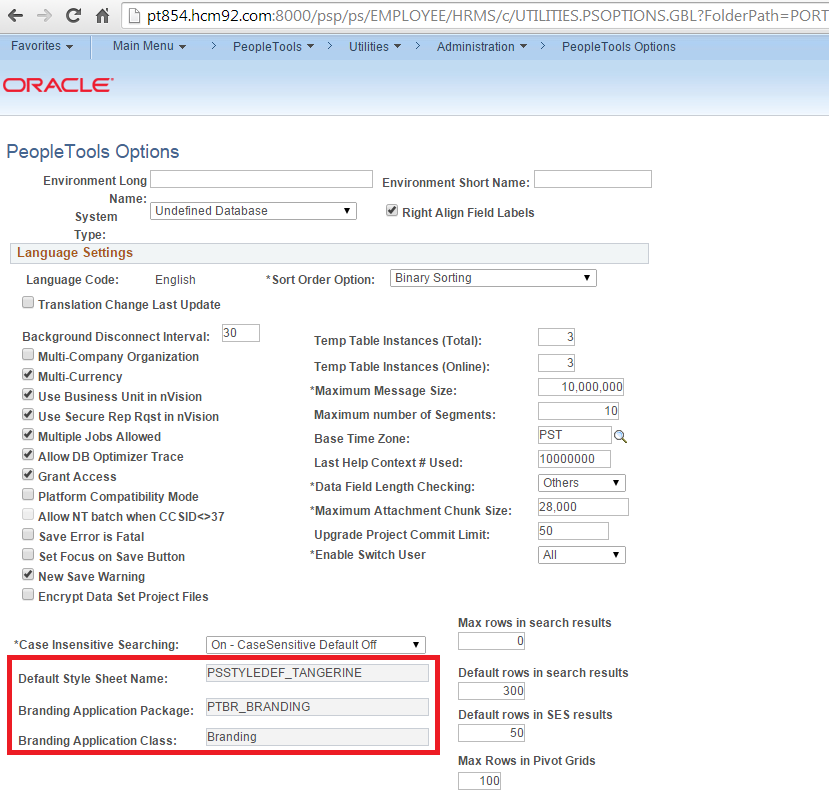Peoplesoft installation peopletools and application