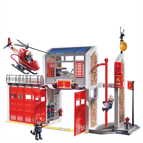 playmobil fire station 4512 instructions