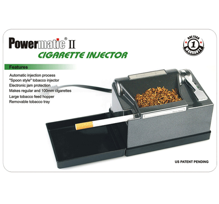 powermatic 2 electric cigarette injector machine manual