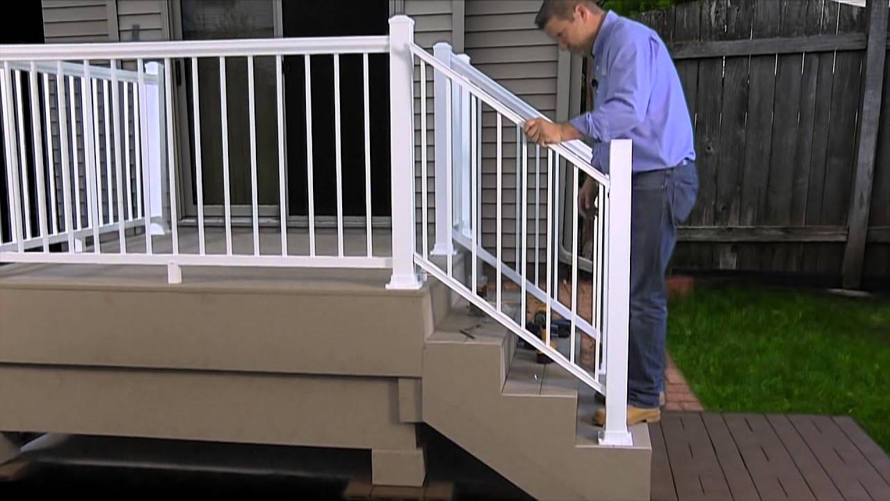 regal railing installation instructions