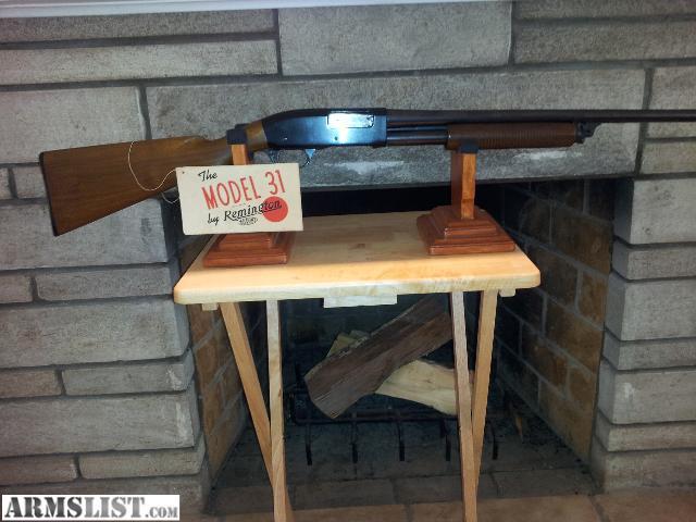 remington model 31 16 gauge manual