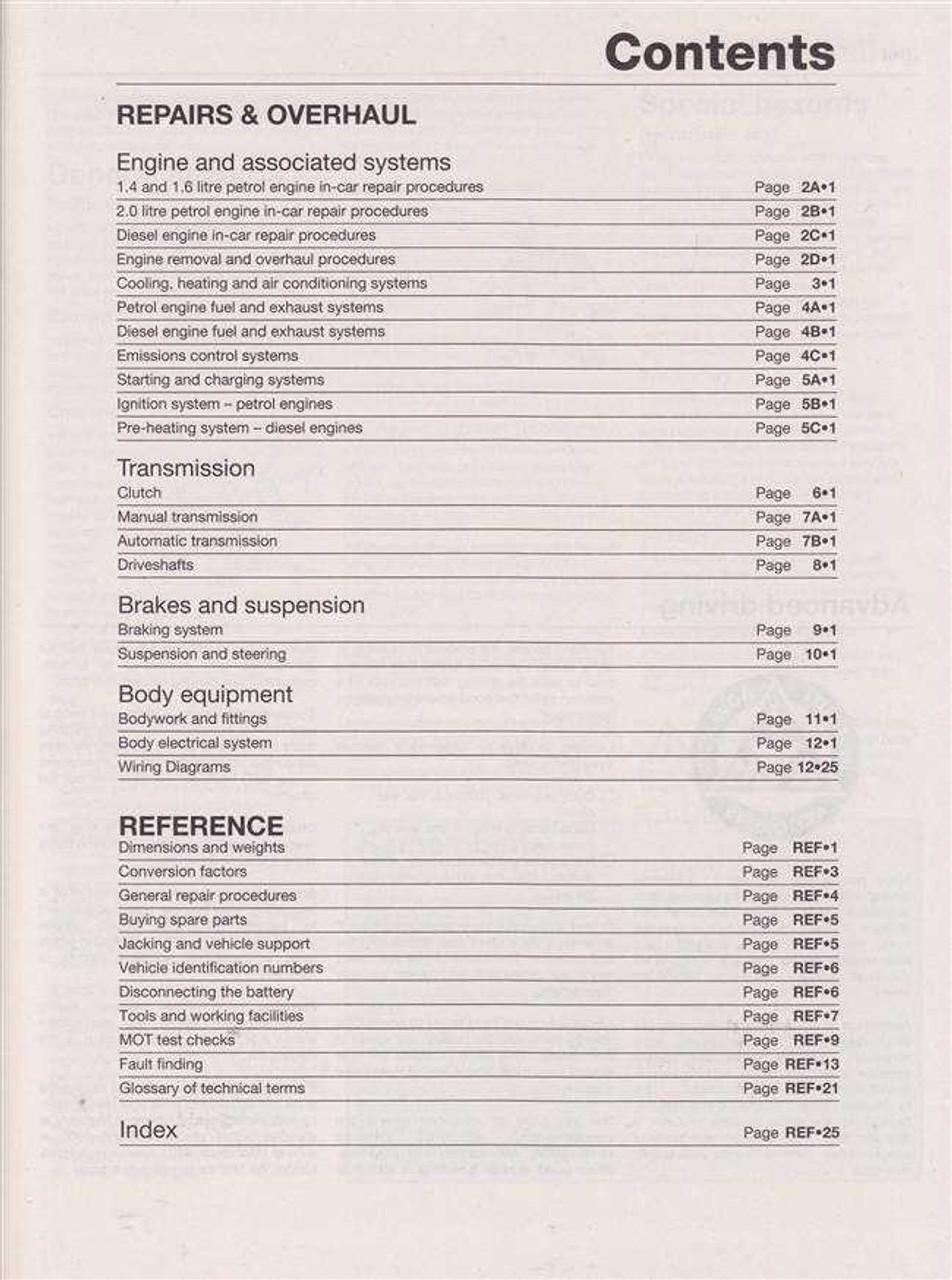 renault scenic workshop manual pdf