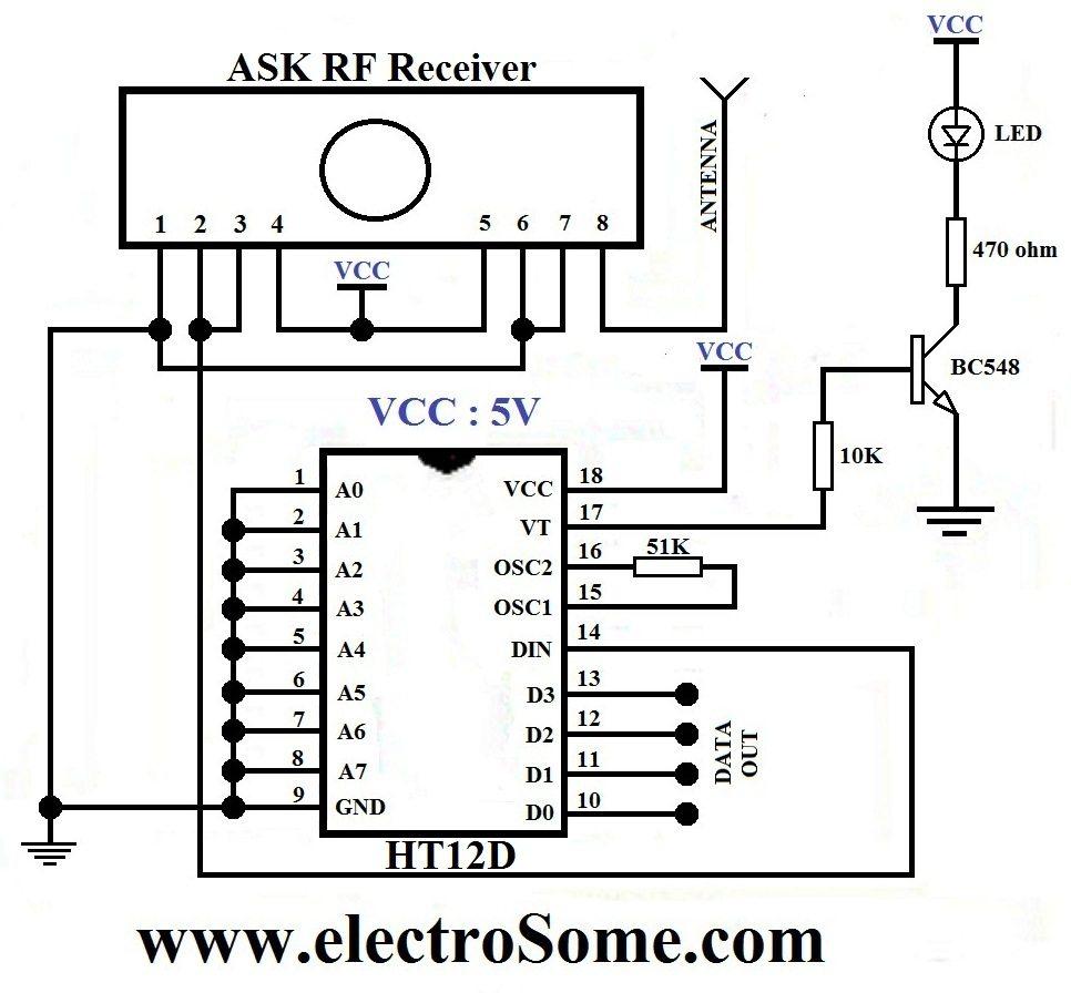 Rf transmitter and receiver circuit diagram pdf