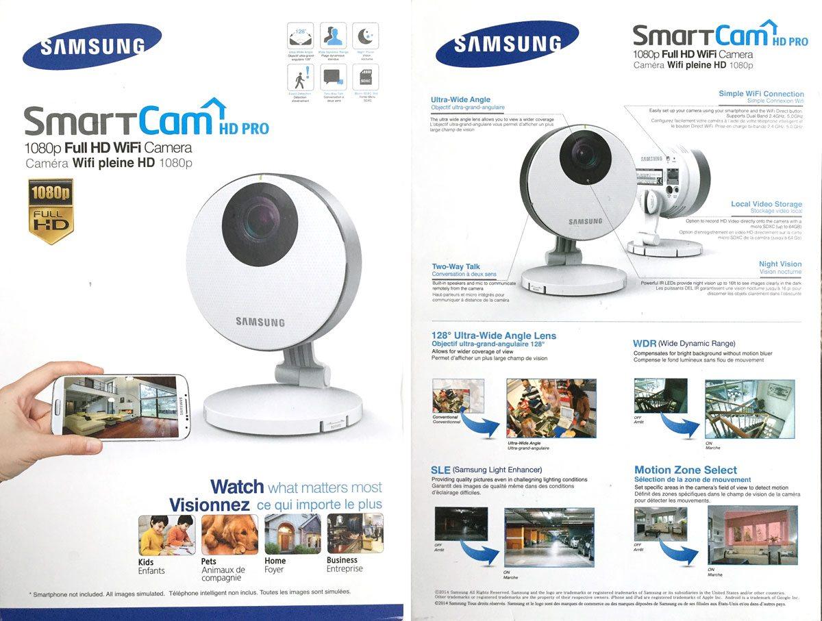 Samsung smartcam hd pro manual