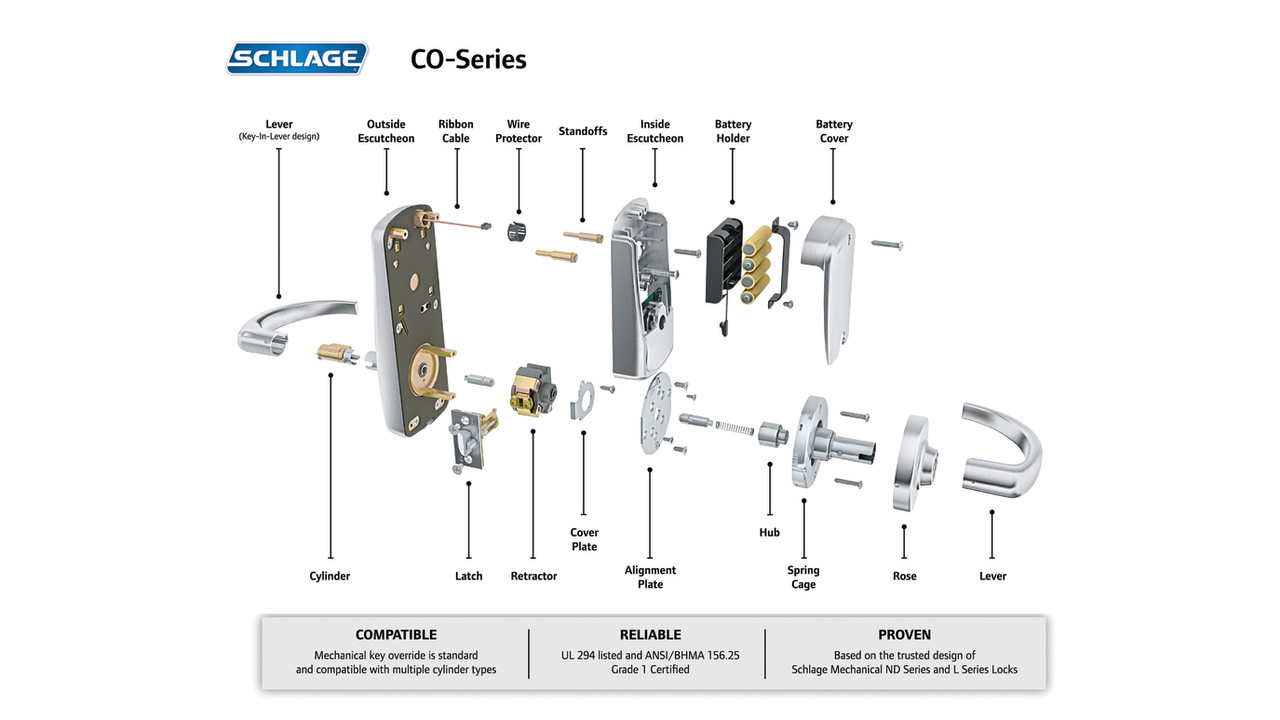 Schlage co 200 user manual