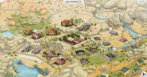 Sims 4 how to open world map