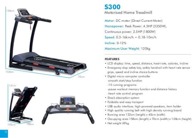 sportcraft tx400 treadmill owners manual